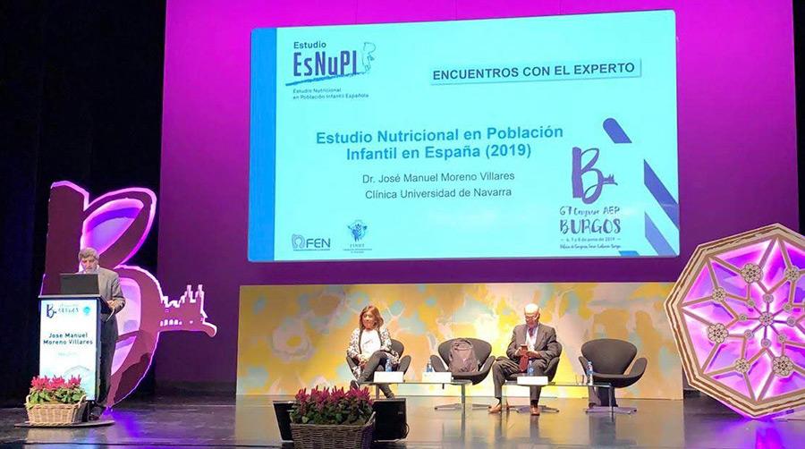 El estudio ESNUPI presentado en el 67 congreso de la AEP