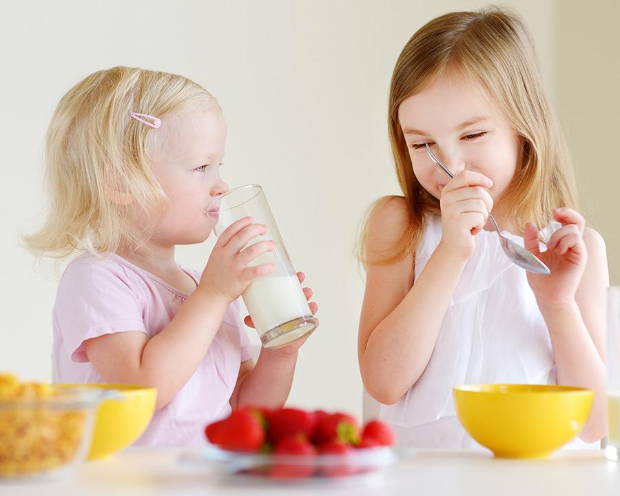 La dieta de niños y adolescentes españoles suspende en calcio y vitamina D, según el estudio ENALIA
