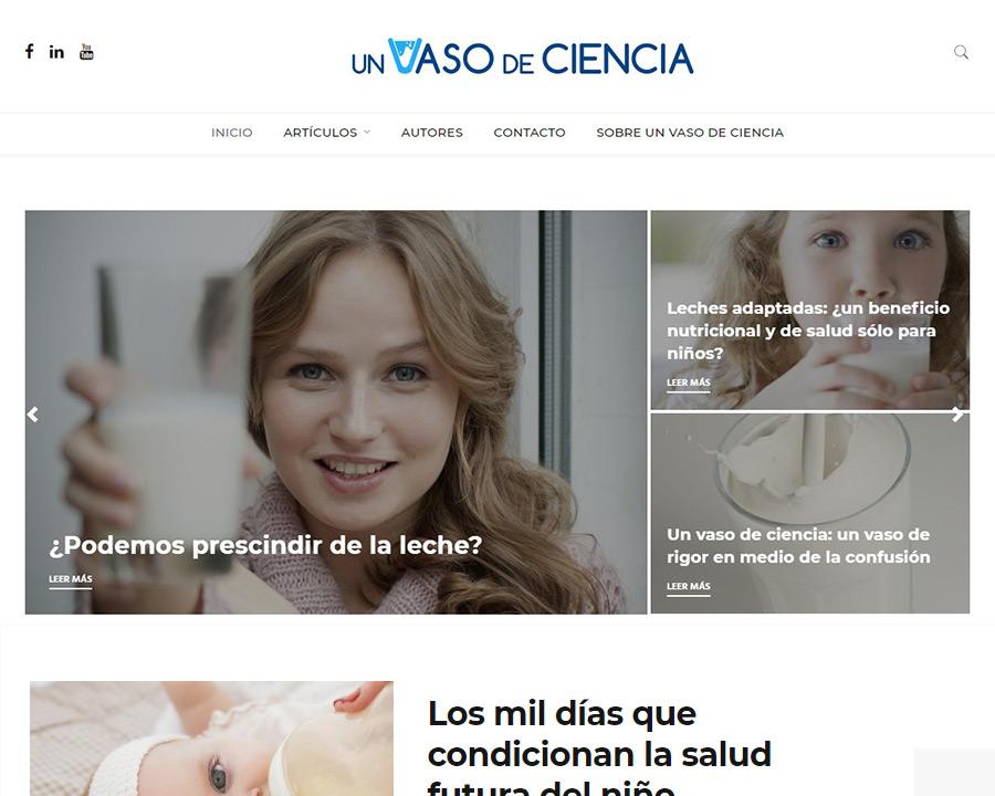 Llega «Un vaso de ciencia», el blog de ciencia y nutrición que reúne a los mayores expertos
