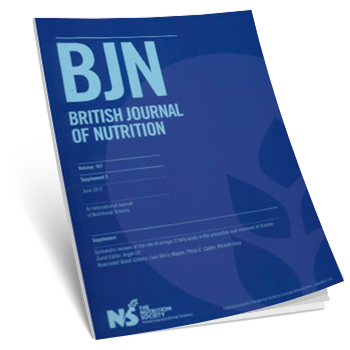 BRITISH JOURNAL OF NUTRITION (Supplement). Systematic reviews of the role of omega-3 fatty acids in the prevention and treatmet of disease. (2012)