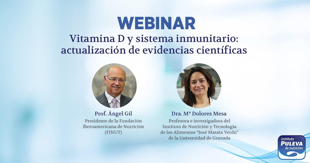 WEBINAR IPN: VITAMINA D Y SISTEMA INMUNITARIO: REVISIÓN DE LA EVIDENCIA CIENTÍFICA